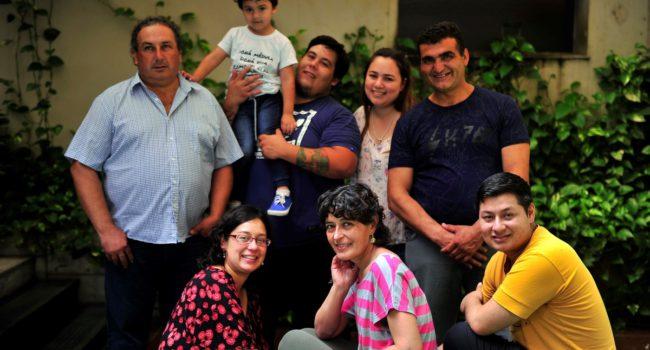 Otros donantes y receptores, entre ellos Gabriela – Foto Maxi Failla Diario Clarin
