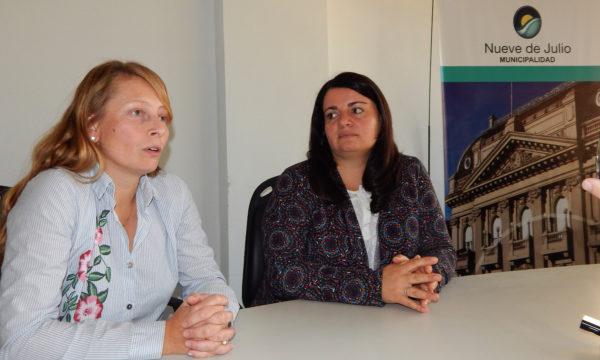 Paula Chiocconi y Lucia Pirotta brindaron detalles de la colecta del miercoels 12