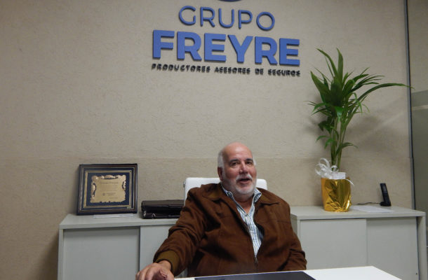 Ruben Freyre titular del grupo Productores de Seguros Grupo Freyre
