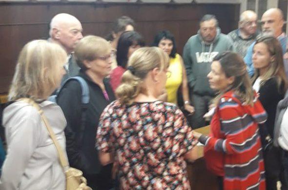 Vecinos del Tejo en dialogo con la Concejal Gentile