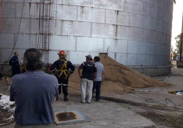 Lugar donde se produjo el accidente – imagen enviada por URGARA