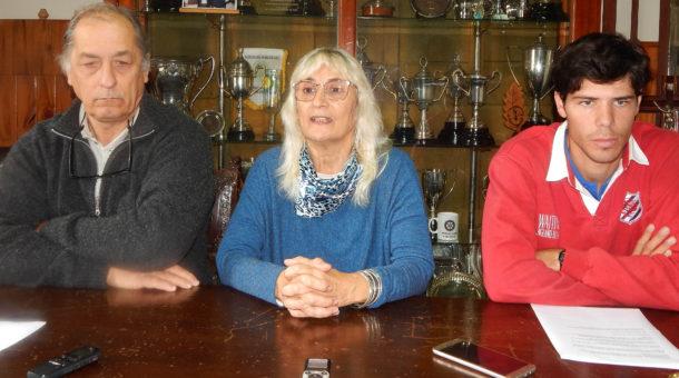 Aldo Esteban, Graciela Vadillo y Andres Capriroli