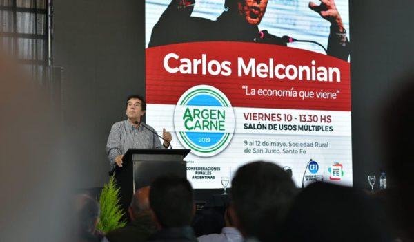 Carlos Melconian estuvo el dia viernes en la muestra
