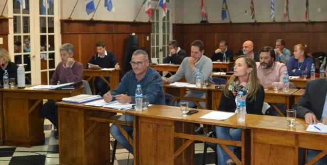 El HCD trato varias documentaciones y Horacio Baglietto le fue concedida la presidente del cuerpo