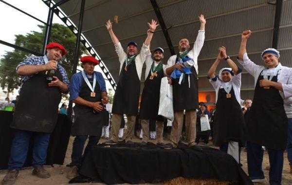 El podio de los Asadores de ArgenCarne