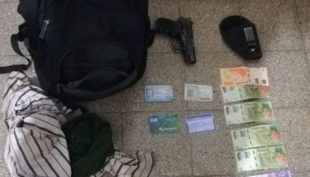 Elementos secuestrados por policia comunal 9 de Julio