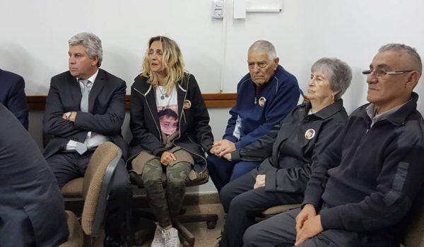 Familiares de la victima