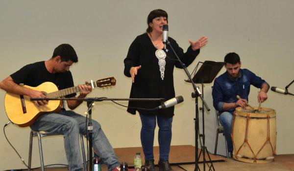 Gisela Alonzo fue parte del Fogon Gaucho de la patria chica