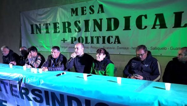 Hernan Sanchez, del Sindicato de Camioneros 9 de Julio
