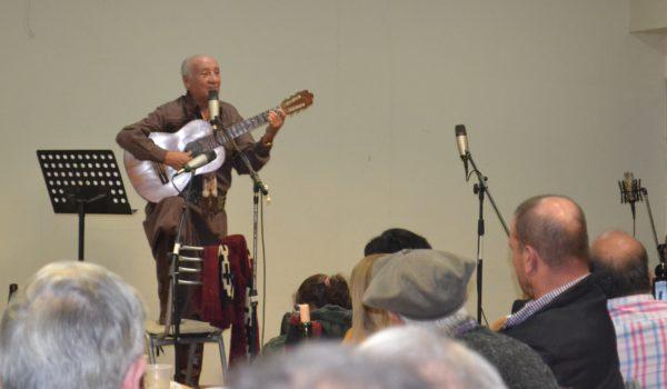 Jorge Alberto Socodatto ante su publico de 9 de Julio en Club San Martin
