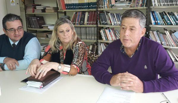 Juan Gutierrez, Lilina Vallabriga y Eduardo Morrone