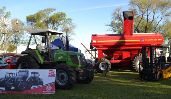 Maquinaria agricola crecio su venta