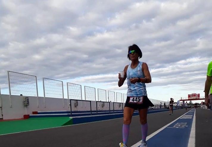 Termas de Rio Hondo: Sandra Marcantoni, la heroína de 9 de Julio en la Ultra Maratón 48hs