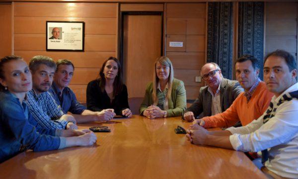 Referentes del GEN 9 de Julio se reunieron con Stolbizer y autoridades provinciales