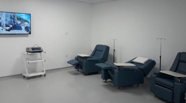 Sala ambulatoria de tratamiento en CEDyT