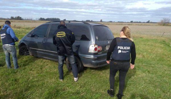 Vehiculo Saharan en el que se movilizaba la persona aprendida por Policia 9 de Julio