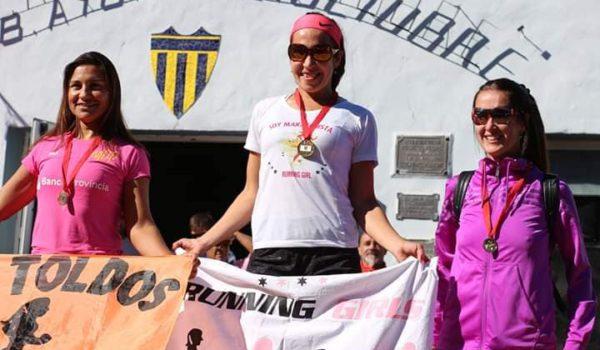 Veronica Guerrero ganadora en Damas