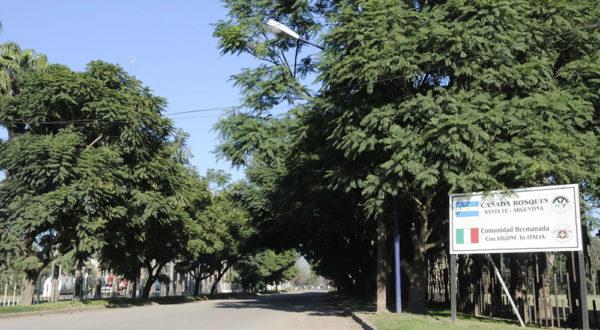 Acceso a Cañada Rosquin ahora convertida en Municipio Verde