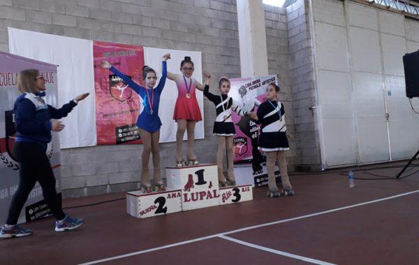 Algunas de las patinadoras obtuvieron destacados puestos