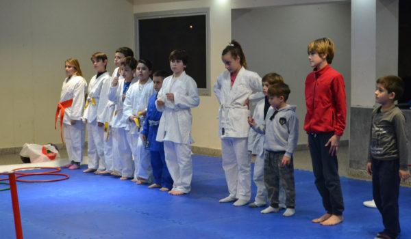 Alumnos de Judo en San Martin