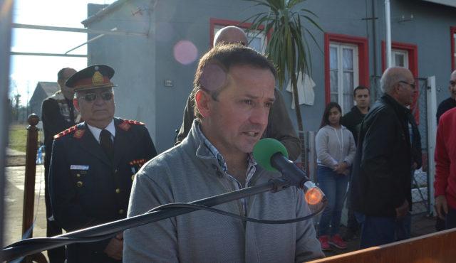 Carlos Arguero es el presidente de la Pro Comision Bomberos Patricios