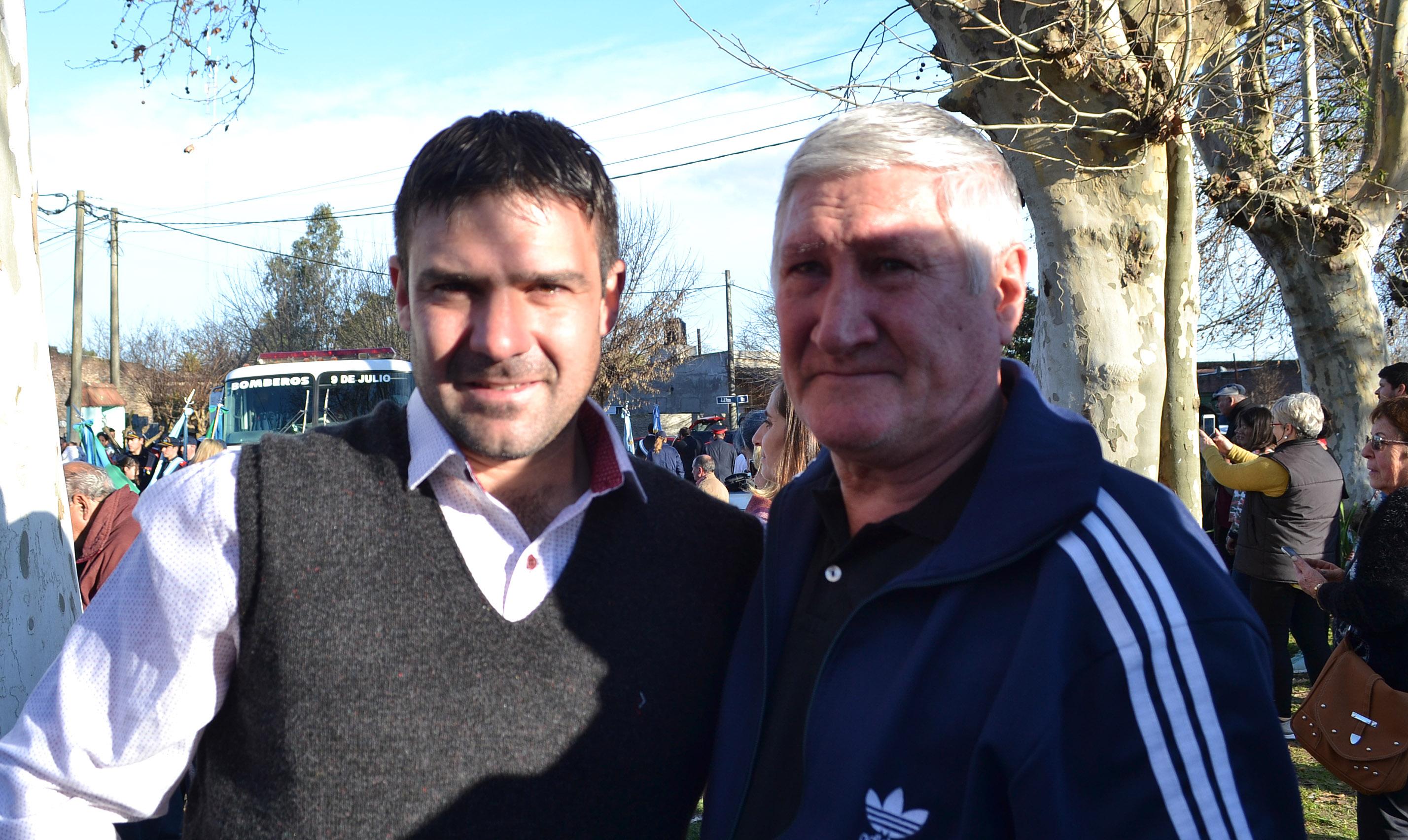 """Carlos Guiotto: """"El pueblo no está olvidado, está de pie y día a día nos esforzamos"""""""