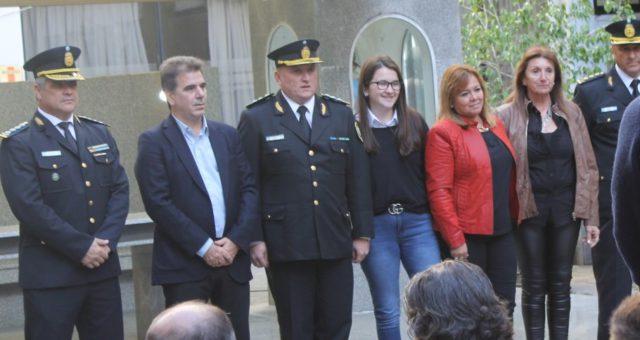 Claudio Cheverry fue acompañado por su familia en su asunción