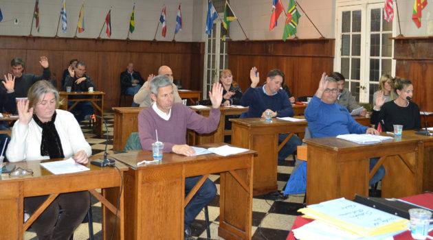 Concejales trataron distintos proyectos este jueves