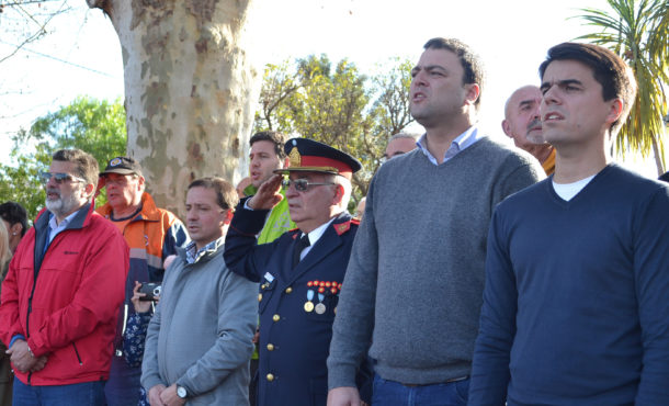 El Intendente Barroso y el Diputado Silvestre acompañaron la grata joranda de Patricios