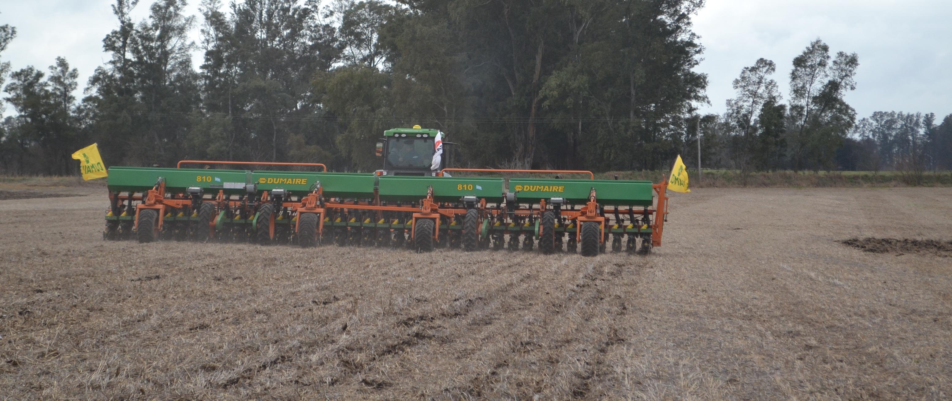 Campaña 20/21: Comenzó la siembra de trigo en9 de Julio y se implantarían 47 mil hectáreas