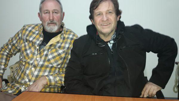Manuel Criado y Javier Tomasin integrantes de la lista