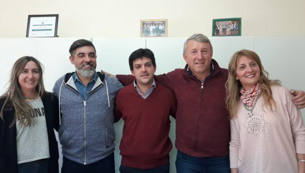 Maru Poggi, Carlos Brangeri, Juan Pablo Filoni, Silvio Balbo y Flavia Ieno