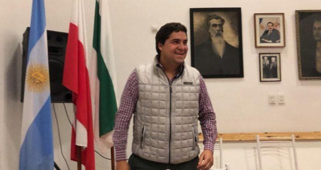 Palacios tras conocer la designacion del Comite que lo postula como pre candidato a intendente, ahora es el turno de la discusion en Cambiemos