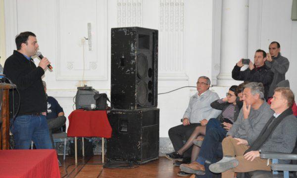 Jornada vial que fue encabezada por el Intendente Barroso