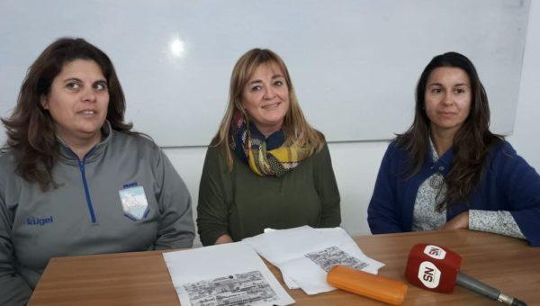 Moro, Odello y Molinari en rueda de prensa