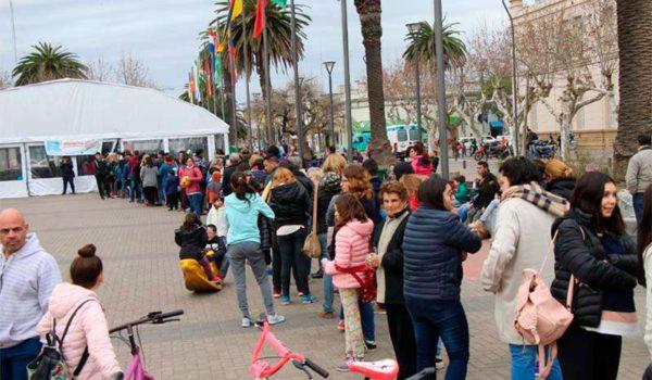 Publico que se acerco al evento bolivarense