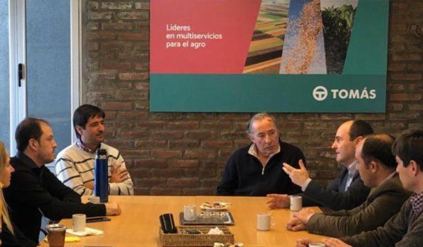 Tramo de la reunion presidida por Carlos Borla