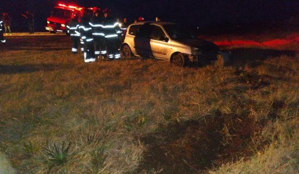 Vehiculo participane del accidente – foto Bragado TV