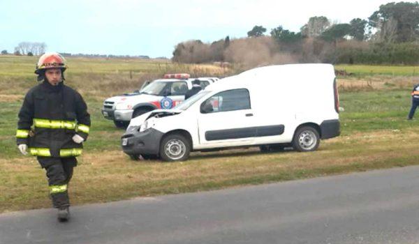 Vehiculo siniestrado – foto La Verdad de Junin
