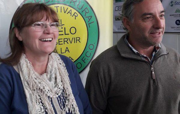 Emilce Rossi y Fernando Mato adelantaron detalles de la Fiesta del Agricultor en La Rural