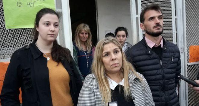 Gabriela Arcaria, Marcela Rivero y Juan Valenti