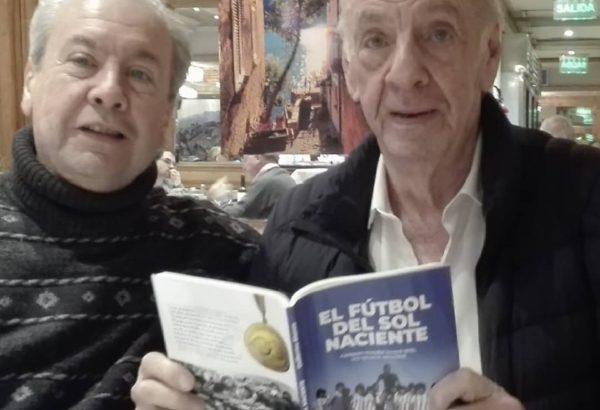 Guillermo Blanco junto a Cesar Luis Menotti
