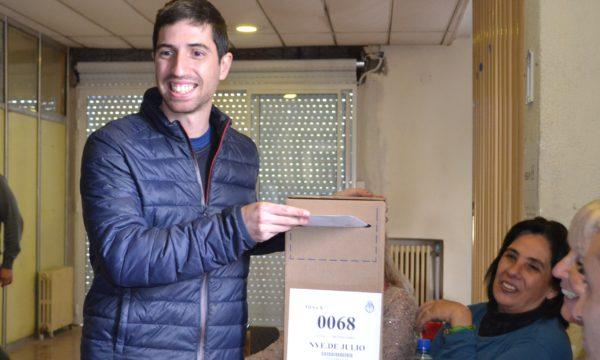 Juan Pablo Parise voto en ISETA