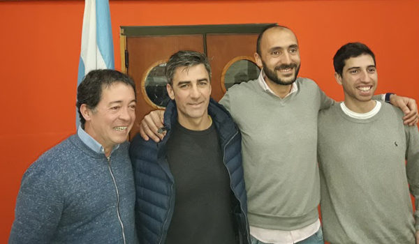 Luego de las PASO, Giuliodoro, Rodriguez, Esteban y Parise se mostraron juntos