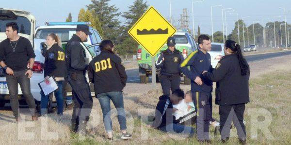 Lugar de la detencion de los individuos