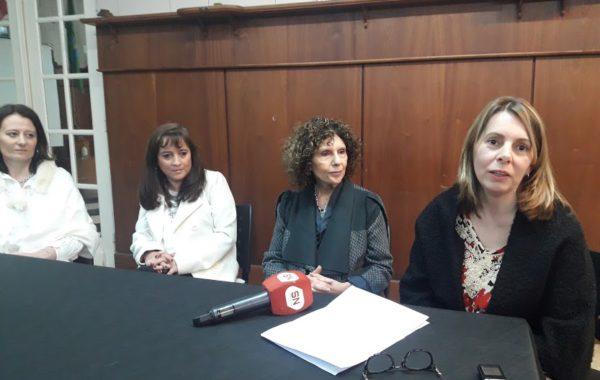 Claudia Josserme, Claudia Messing, Gilda Bramajo y Yanina Elola