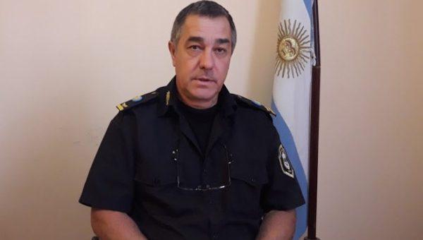 Crio Insp Horacio Ferrari a cargo de Policia Comunal 9 de Julio