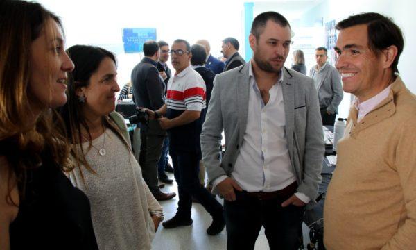 El Ministro Tizado junto a empresarios