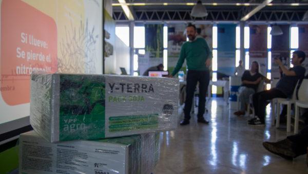 Fue presentado Y-Terra en 9 de Julio