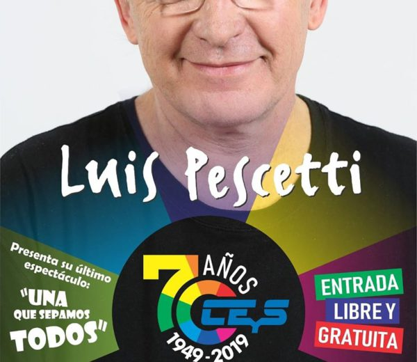 Lus Pescetti dejara su musica mañana domingo 8 en Plaza del Cooperativismo